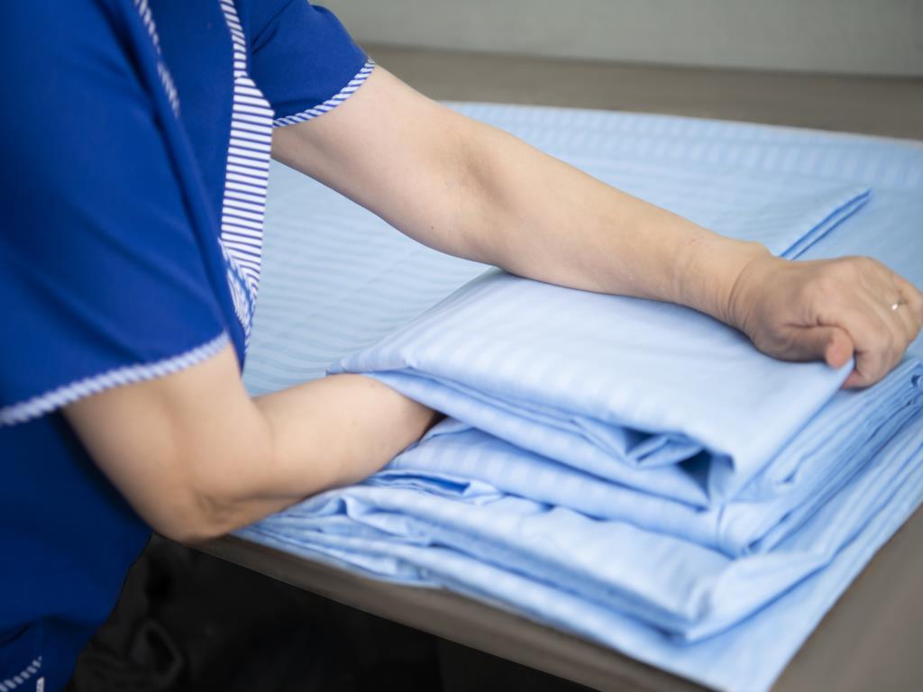Упаковка постельного белья